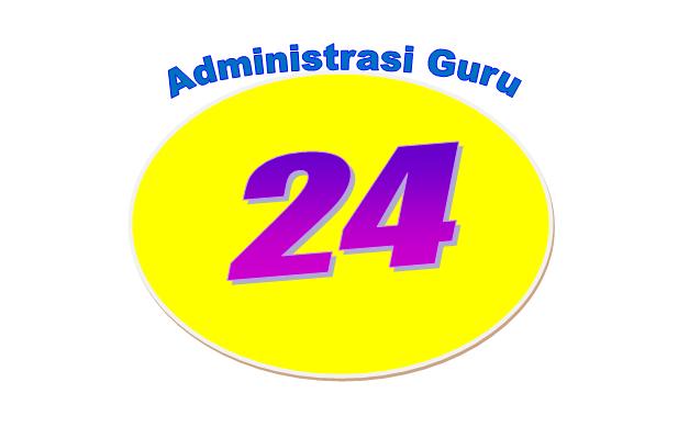 Download Gratis 24 Berkas Administrasi Dalam 1 File Excel