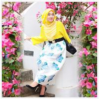 Gambar Baju Muslim Dian Pelangi Atasan Bawahan