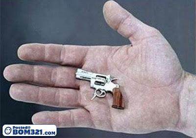Pistol Terkecil Di Dunia