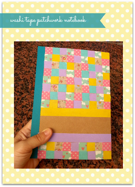 Forrar agendas aprender manualidades es - Como decorar con washi tape ...