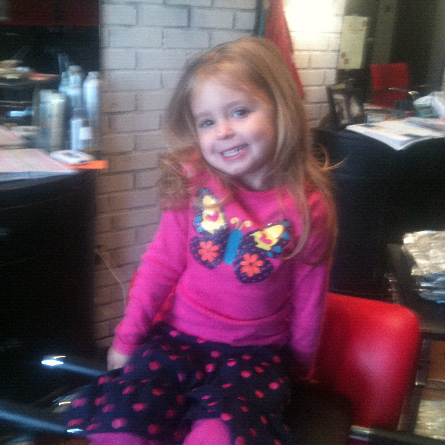 Lilly Reids Life Lillys First Haircut