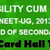NEET 2013 admit card Hall Tickets Online download www.cbseneet.nic.in