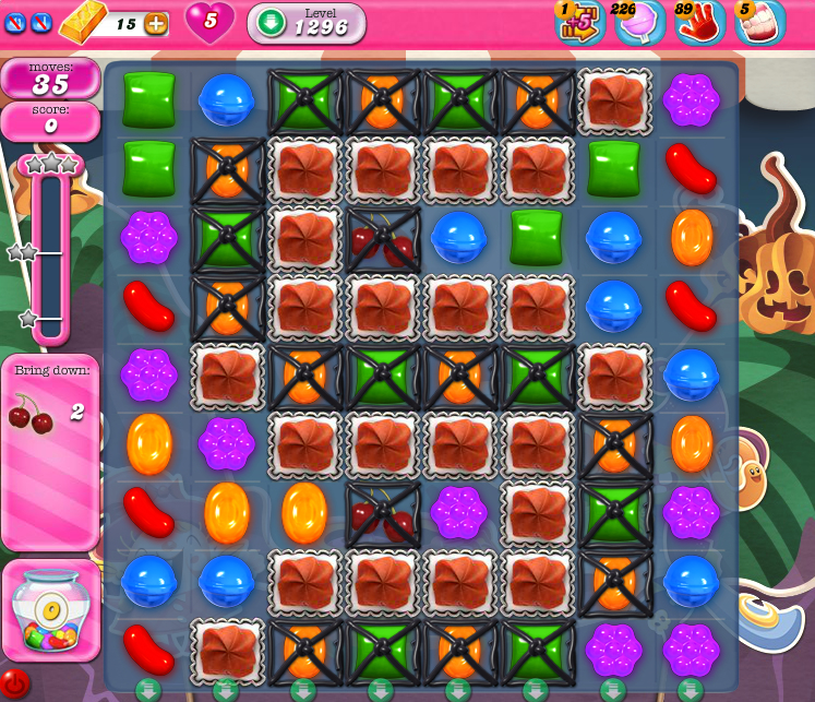 Candy Crush Saga 1296
