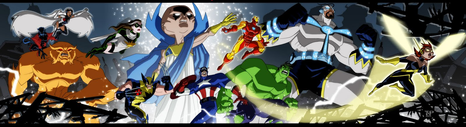 Avengers EMH crew gift poster