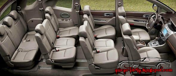 AUTOMOTIVE CRAZE: Mahindra SsangYong Korando Turismo 11 seater MPV ...