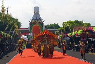 Banyuwangi Ethno Carnival 2014.