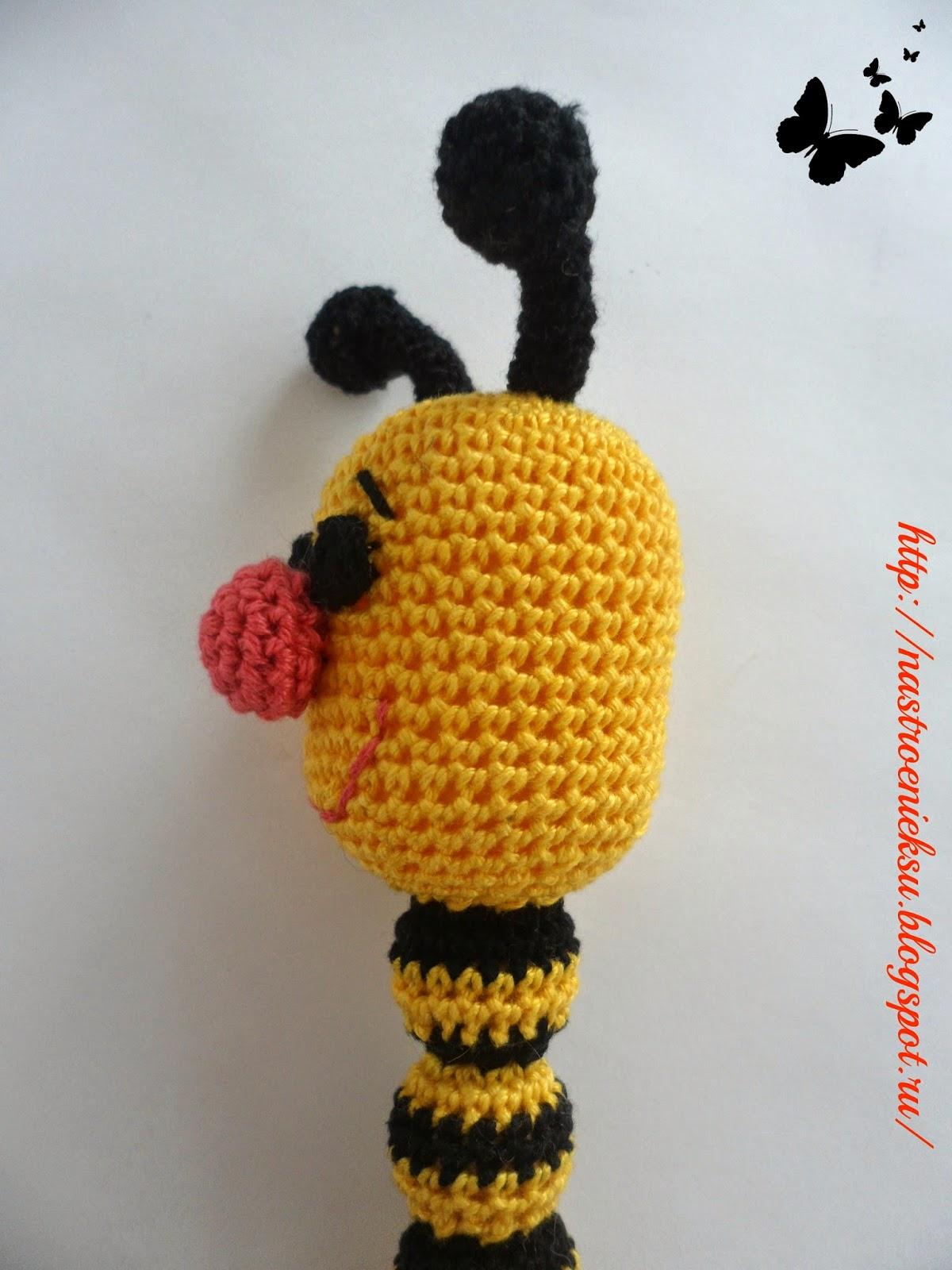 погремушка,пчелка,слингоигрушки,малышам