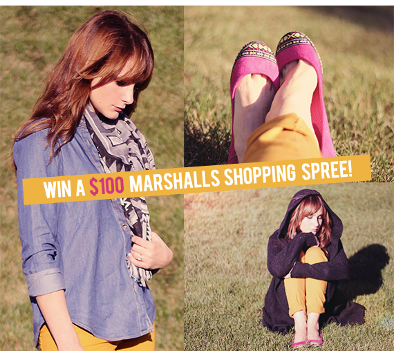 Win a $100 Marshalls Gift Card