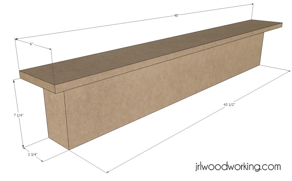 fireplace mantel shelves plans | Fabulous Woodworking Projects