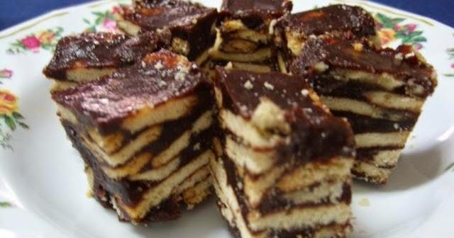 Resepi Kek Batik Tanpa Koko