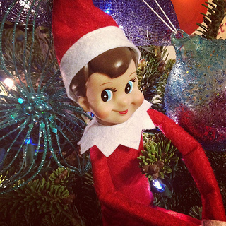 Next Life, NO Kids: Elf on the Shelf People Scare Me
