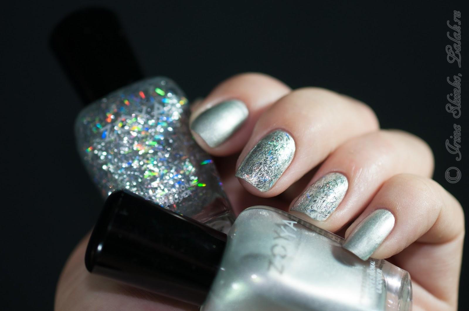 Фото блестящий лак для ногтей