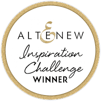 Altenew Inspiration Challenge Winner