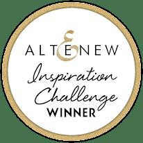 Altenew Inspiration Challenge Winner