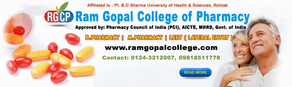 B. Pharma admission 2014 in gurgaon