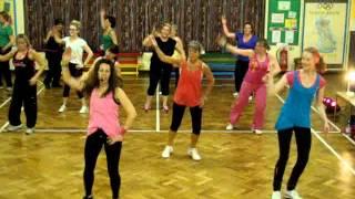 mqdefault Zumba Cumbia coreografía para ejercitar cintura piernas y abdomen
