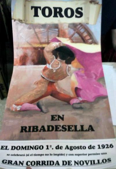 CARTEL RIBADESELLA