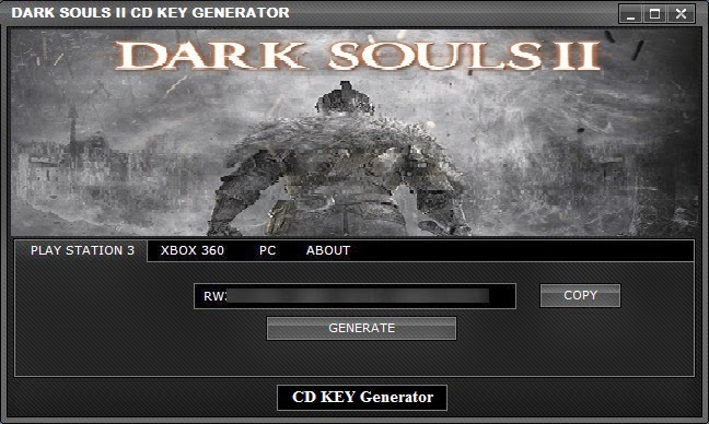 Dark Souls II CD KEY Generator