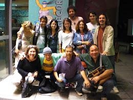 Farani em visita ao Oi Futuro, 2011