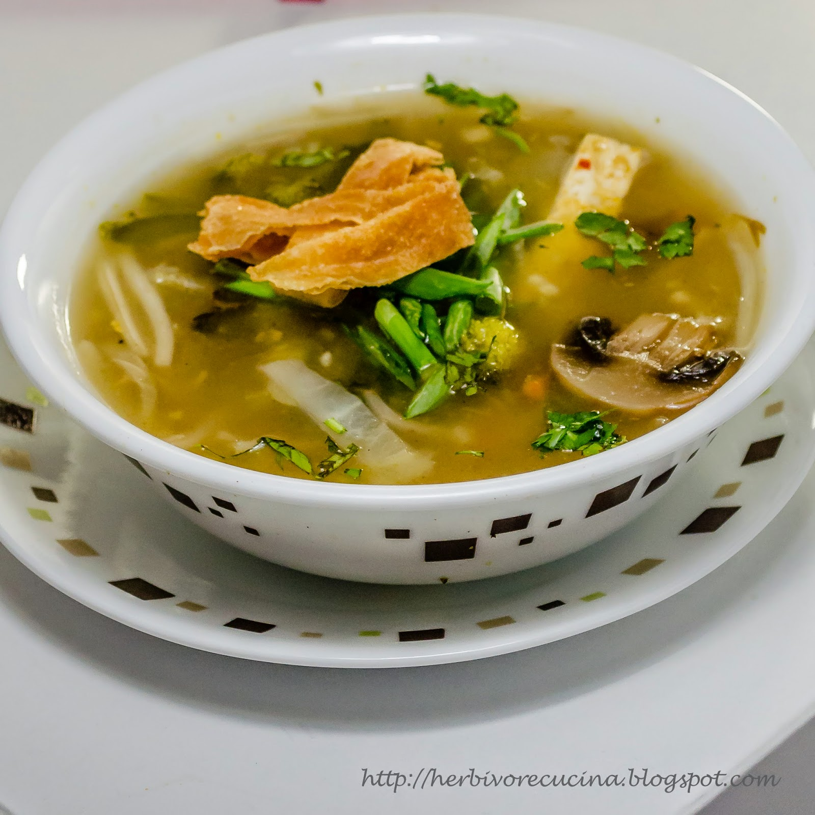 Herbivore Cucina: Asian Ginger Broth