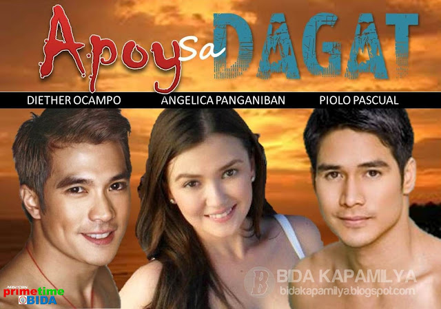 Apoy Sa Dagat starring Diether Ocampo, Piolo Pascual and Angelica Panganiban