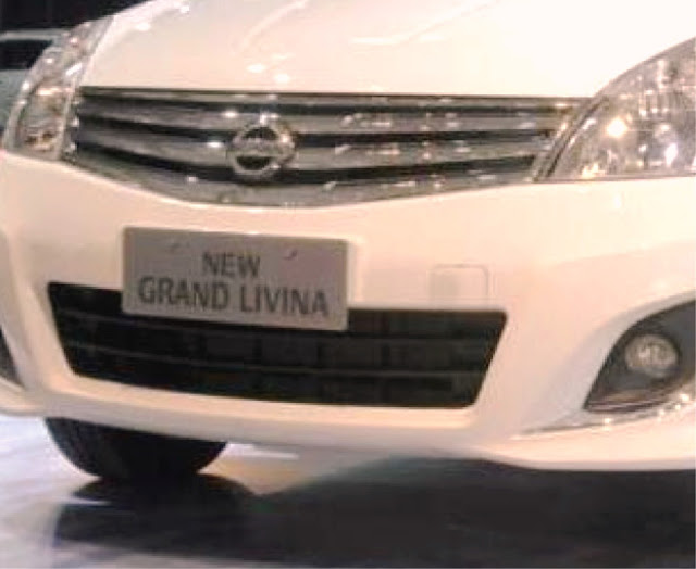 New Grand Livina 2013-front grille