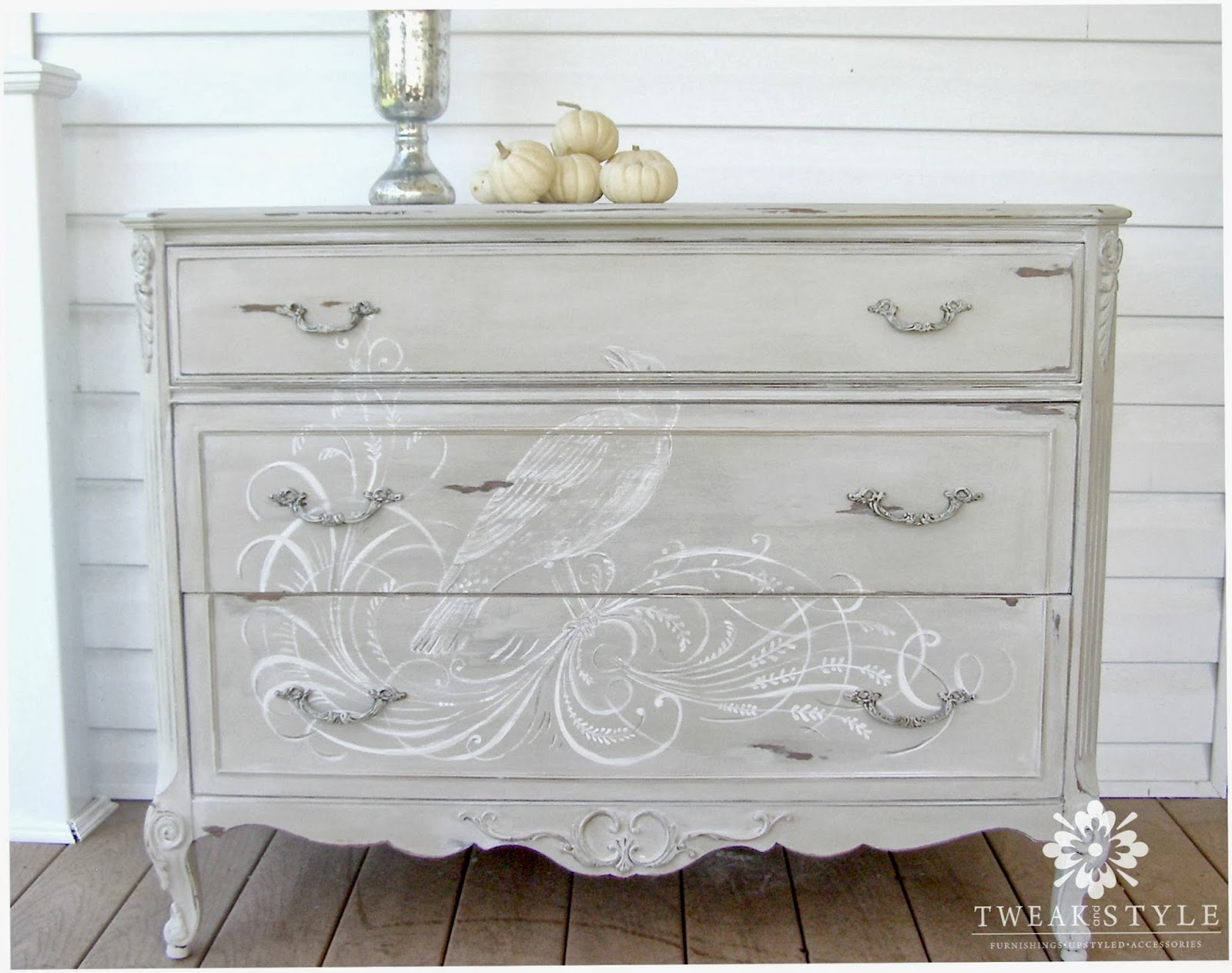 Tweak Style Blog The Hand Painted Dresser How To Add A Hand Painted E