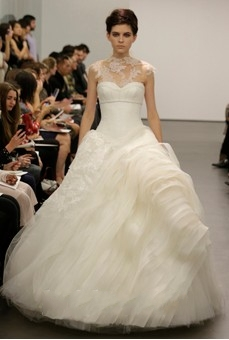 Vera Wang 2013 Fall Wedding Dresses