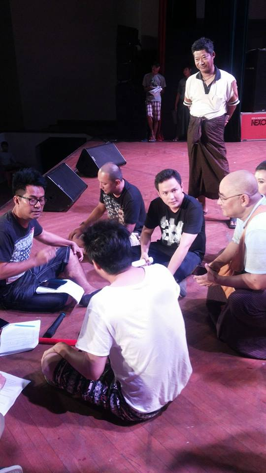 Support Myanmar : Hnin Si Group preparing to perform for Donation