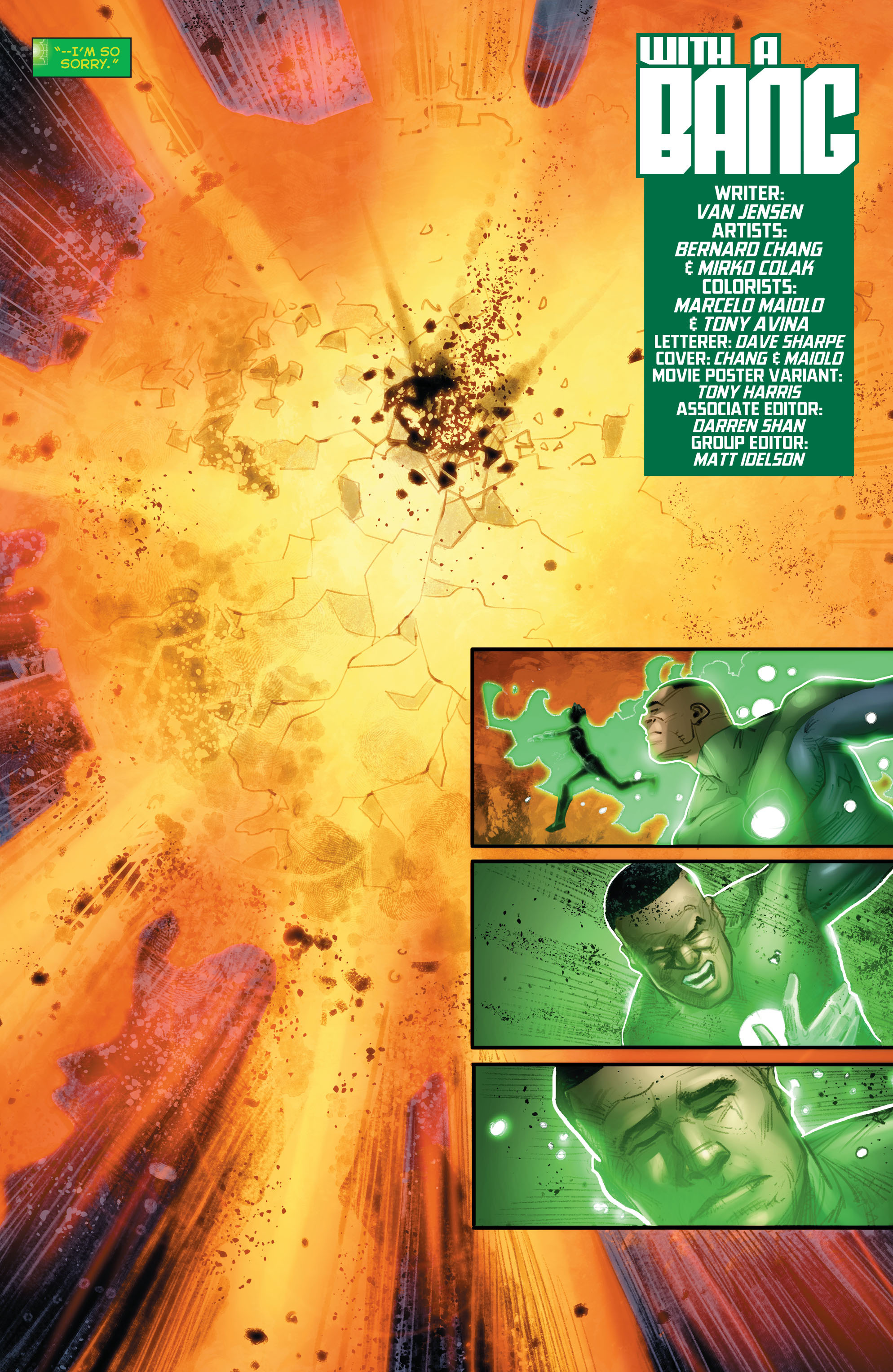Green Lantern Corps (2011) Issue #40 #43 - English 4