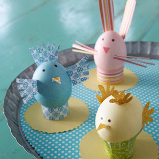 Dress up your home for Easter! These easy, inexpensive DIY ideas will delight kids and adults alike—and add a punch of Easter cheer to your home. Also, check out these adorable Easter crafts for kids and beautiful egg decorating ideas for more fun projects.