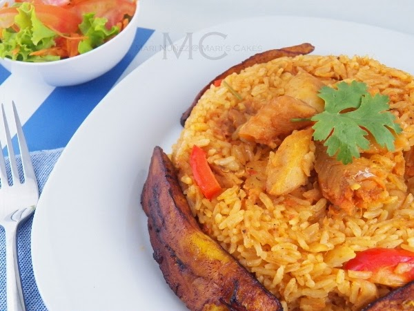 Rice with cod fish arroz con bacalao mari 39 s cakes english for Rice dishes with fish