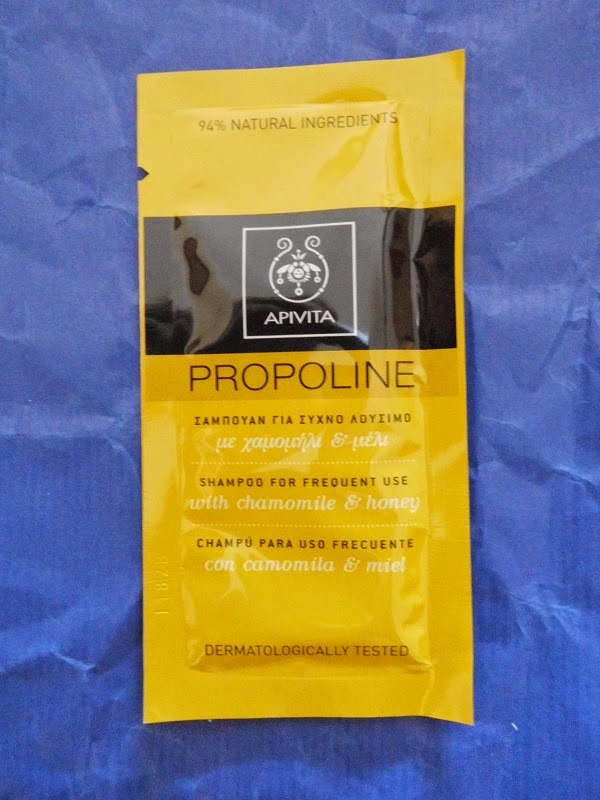 Champú uso frecuente con camomila y miel (Apivita)