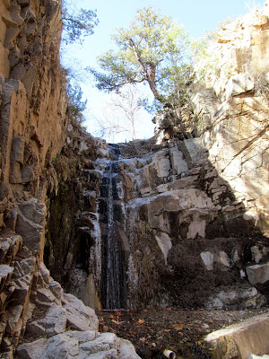 waterfalls in southeastern arizona
