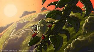Dizzy - grafiki z serii gier.