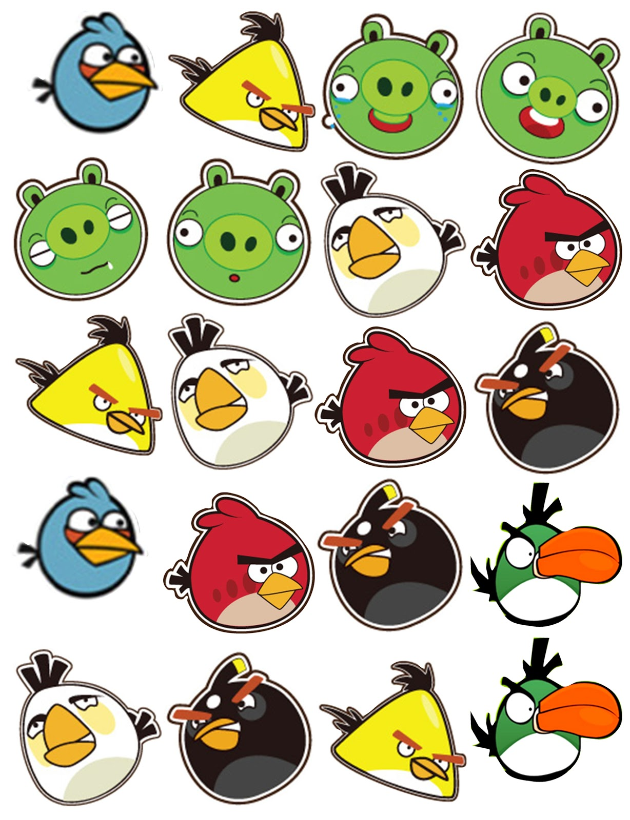 Images of Angry Birds Images To Print - #SpaceHero