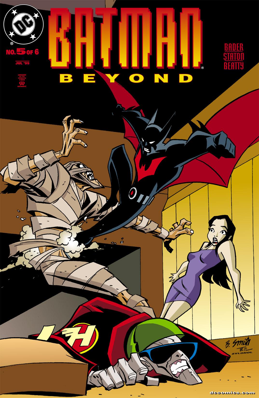 Batman Beyond [I] 5 Page 1