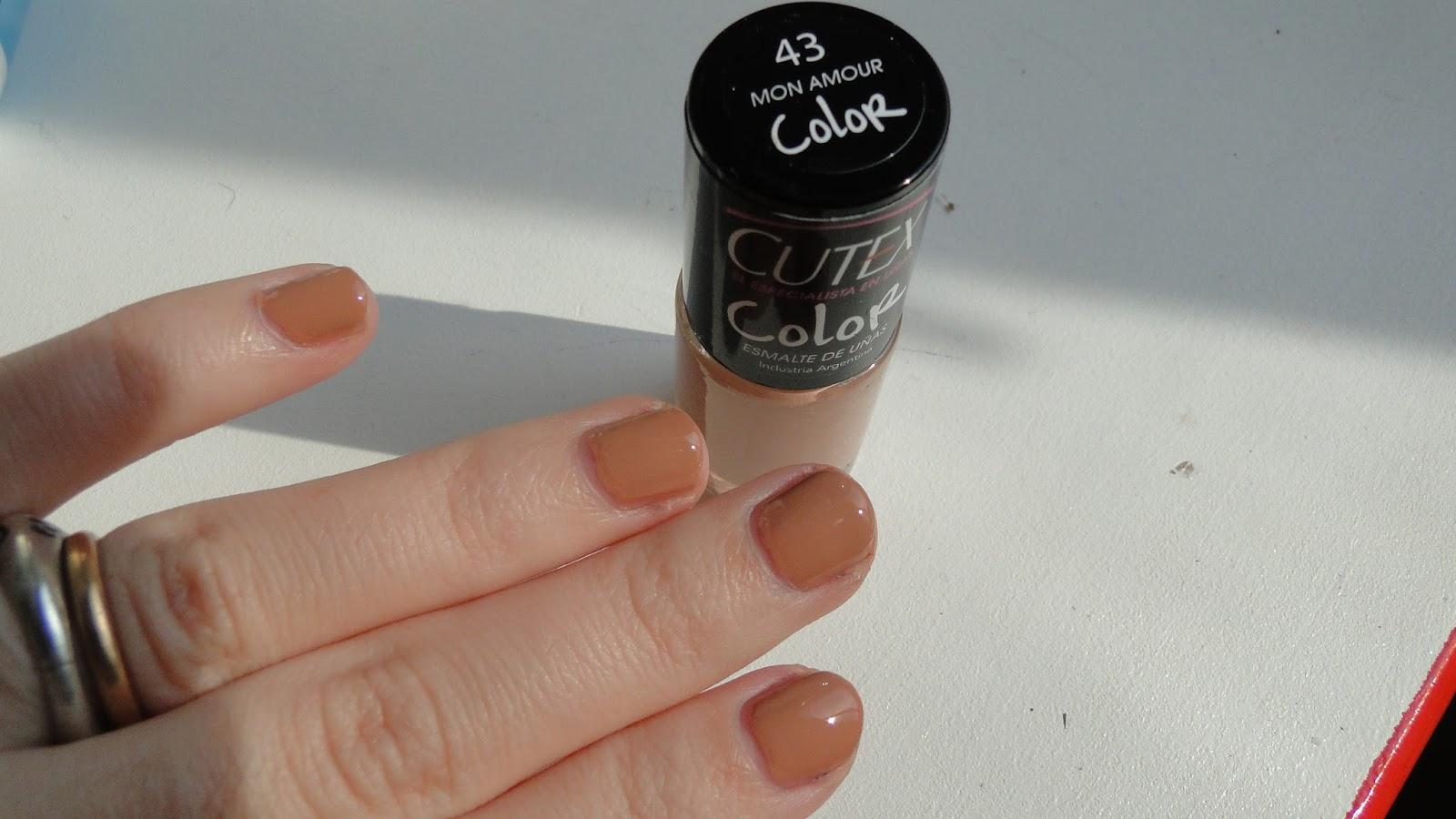 Los colores de Cutex para este verano. / Get Glam Or Die Trying