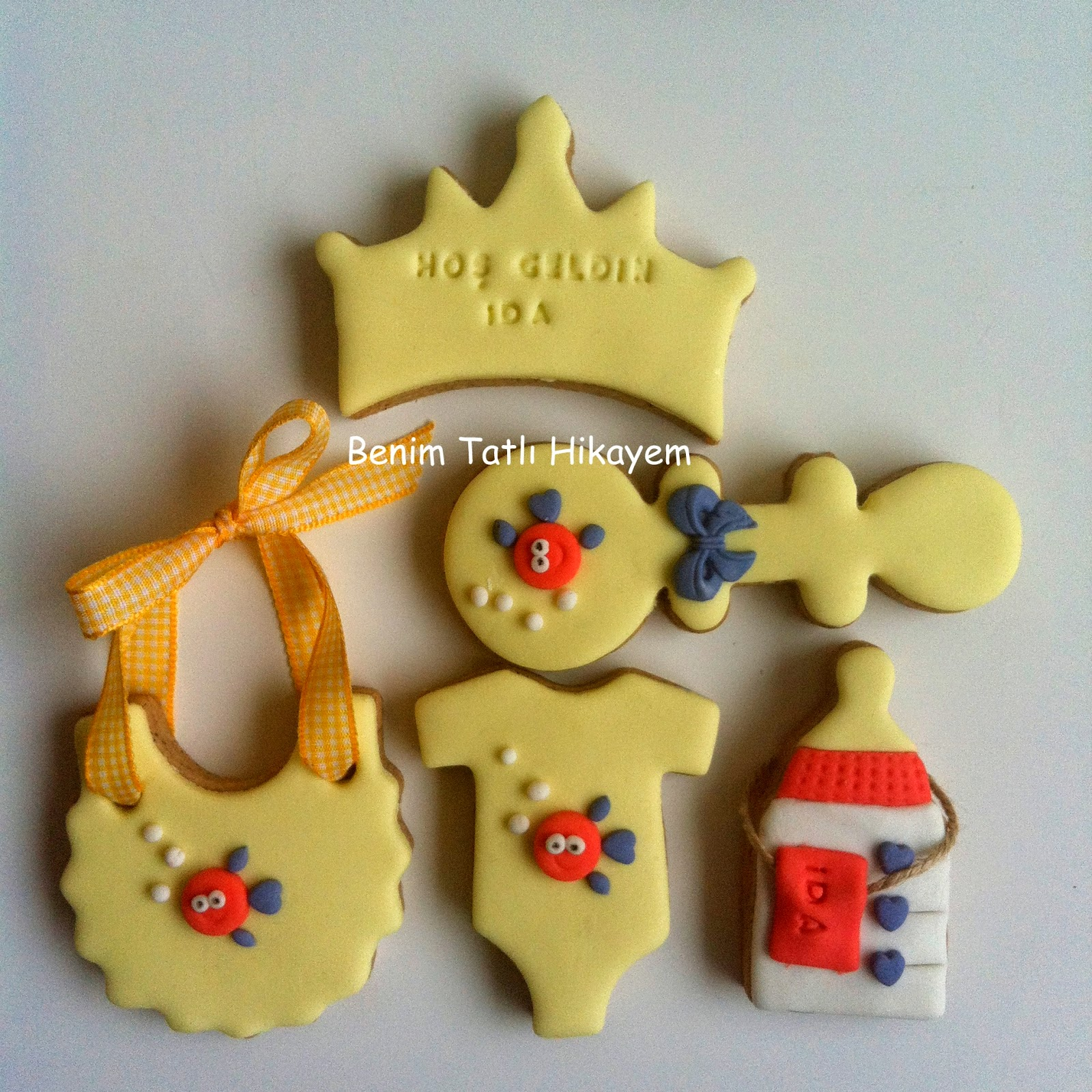 kız bebek kurabiyesi