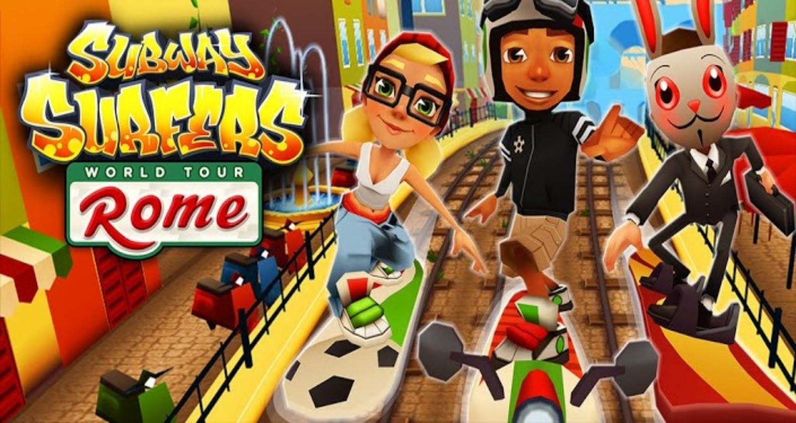 Free Download Subway Surfers v1.8.0 Apk for Android
