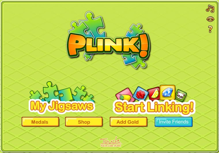 Plink Menu - Click start linking! now