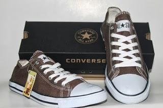 Sepatu Converse Classic coklat murah,grosir Sepatu Converse Classic