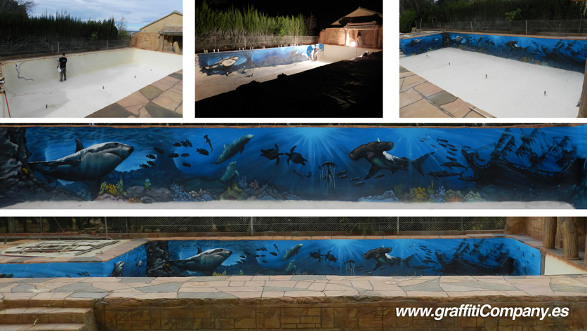 Graffiti company blog Decoracion piscinas exteriores