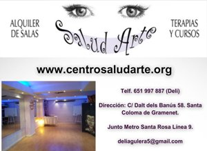 Centro Salud Arte - Alquiler de salas en Barcelona