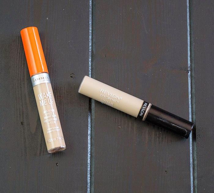 revlon color stay concealer review, rimmel wake me up concealer review,concealer for fair skin, best concealer for dry skin