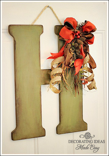Decorating Ideas Made Easy Blog: Fall Door Decor