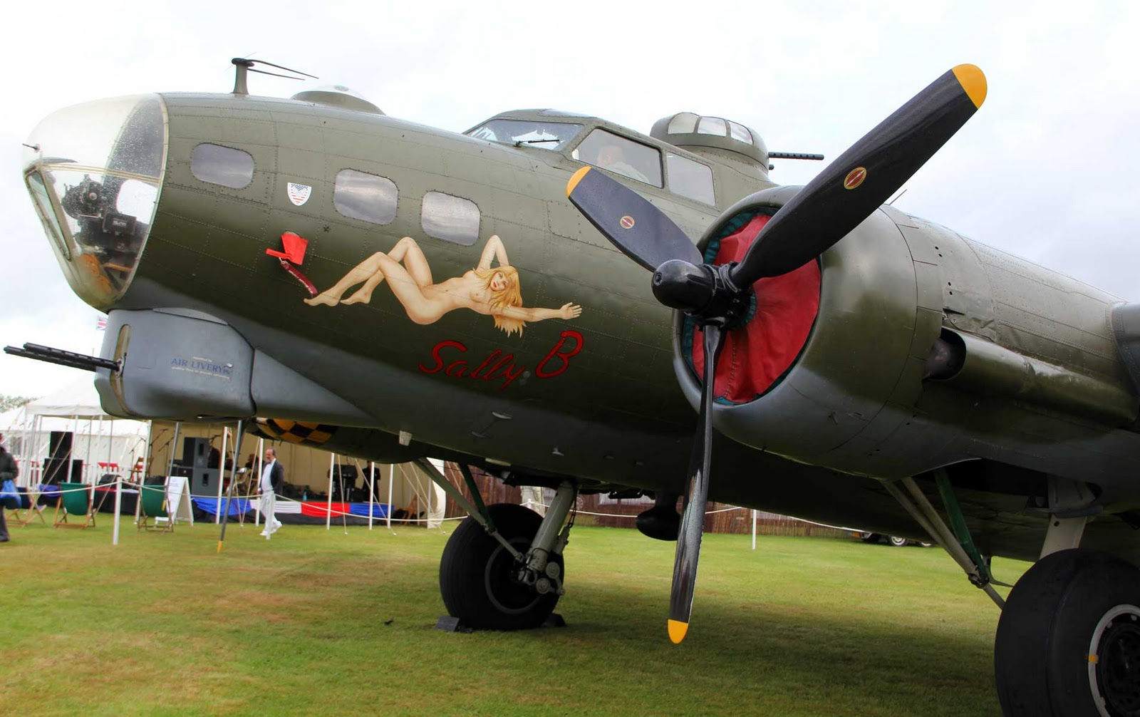 Sally B Close Up Then Teen took some of Mother,