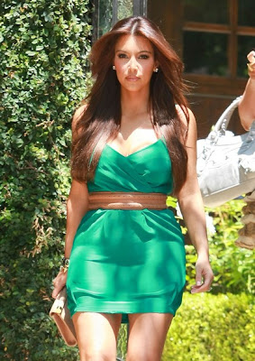 Kim Kardashian Long Hairstyles