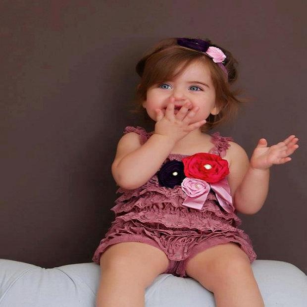 merveilleuse photo pour  bébé fille