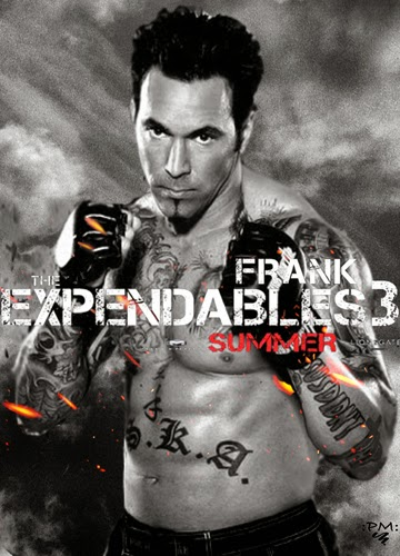 Frank The Expendables 3